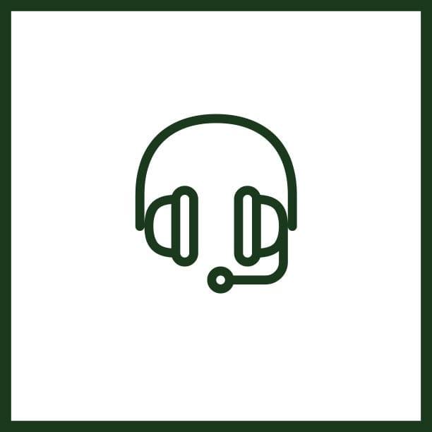 Icon für Voice Over und Übersetzungen